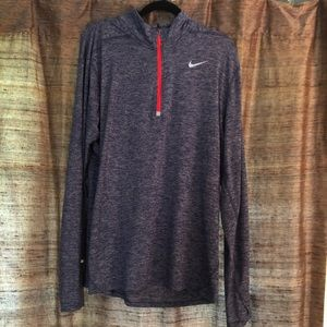 Men's Nike Dri-Fit Quarter Zip- XL